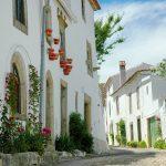 Maisons typiques dans un village du Portugal